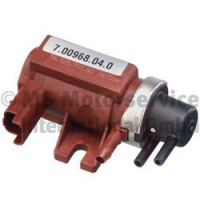 Pressure converter, turbocharger